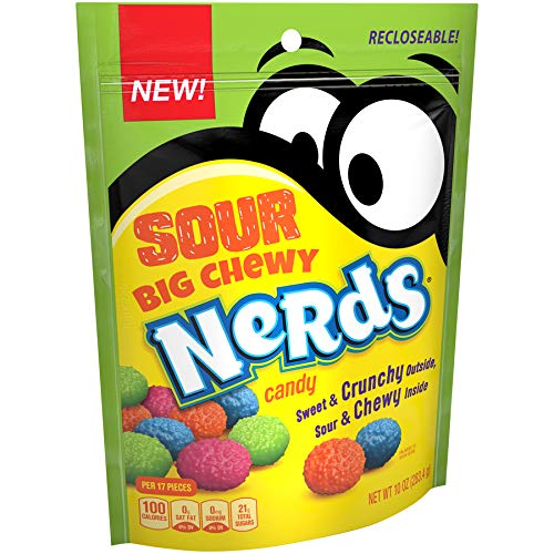 Nerds Big Chewy Sour Candy, 10 O...