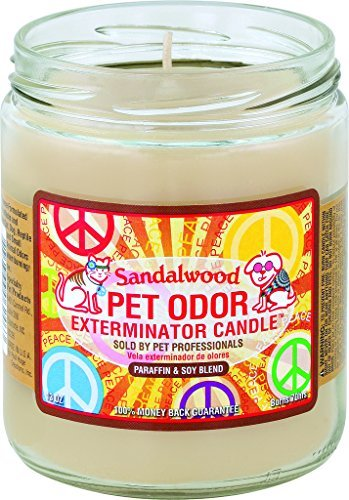 Sandalwood Pet Oder Exterminator Candle
