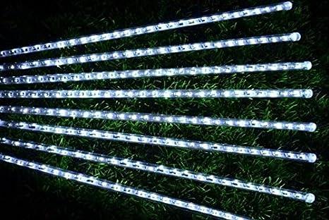 Gas Water Licht : Zll led meteor dusche lichter laterne lichterkette dekorationen