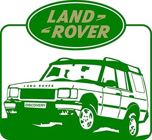 molda18 Land Rover Auto Fun T-Shirt 387 Gris
