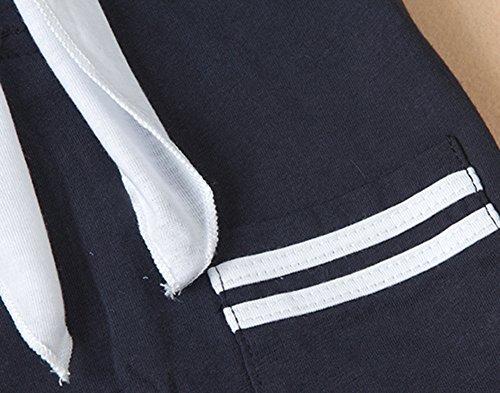 AvaCostume Baby Boys Navy Uniform One-Piece Romper