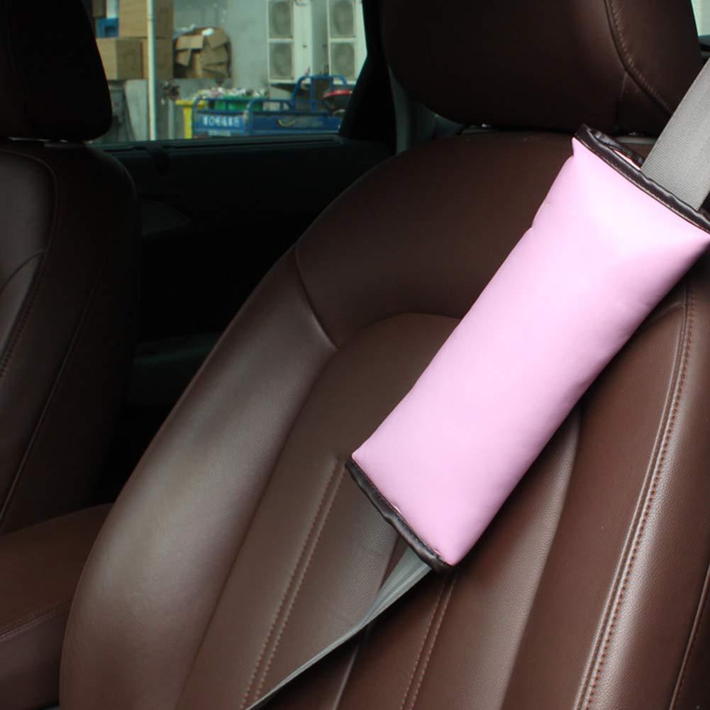 Bambini Rosa Newin Star Car Seat Belt Cuscino Carino Cintura di Sicurezza Giocattolo Regolabile copricuscino Spallacci per Bambini