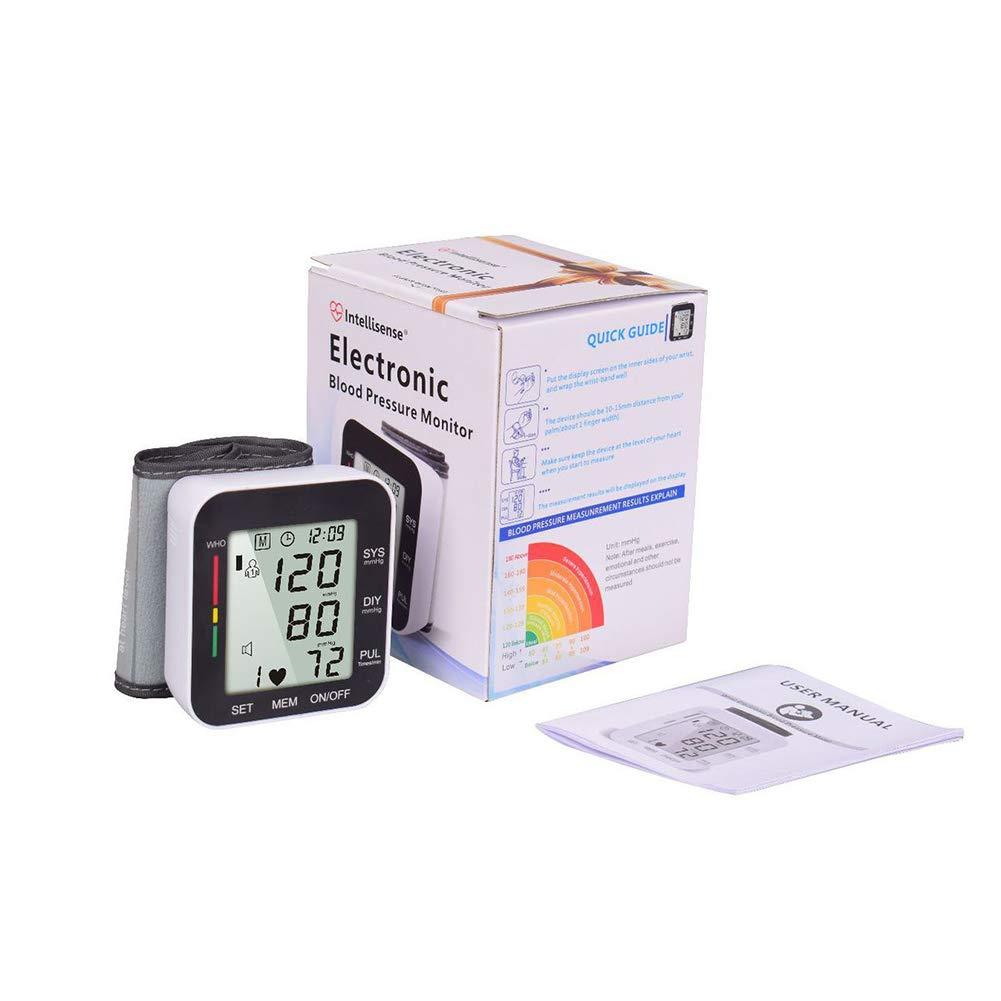 CQ Monitor De Presión Arterial Digital Brazalete Grande Tipo Muñeca Voz Instrumento De Medición: Amazon.es: Deportes y aire libre