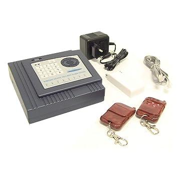 BeMatik - Alarma para teléfono Fijo con Teclado B: Amazon.es ...