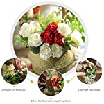 Veryhome-Artificial-Flowers-Silk-Roses-Fake-Bridal-Wedding-Bouquet-for-Home-Garden-Party-Floral-Decor-10-Pcs-White-Curved-stem