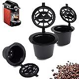 Comprar Home Kitchen Refillable Coffee Capsule Cup Reusable Refilling Filter For Nespresso Machine en Amazon
