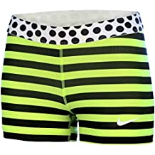 """Nike Pro Stripe And Dot 3"""" Women's Compression Running Shorts"""
