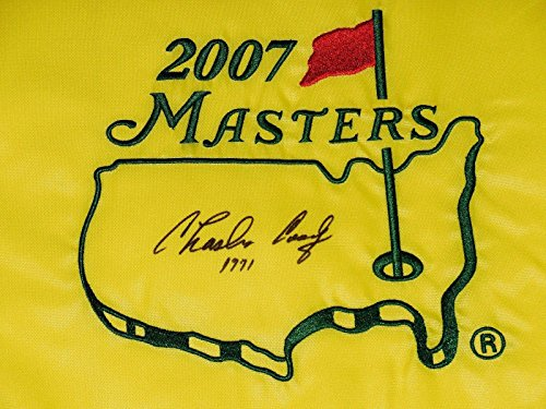 Charles Coody Autographed Masters Golf Flag (1971 Winner) - W/Coa! - Autographed Golf Pin Flags