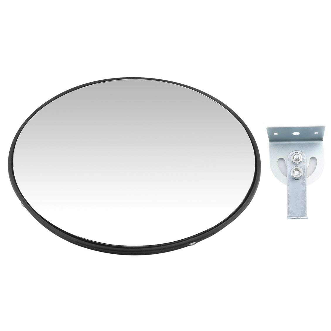 Pgige Specchietto Convesso del Traffico Stradale, Diametro Stradale 30 cm Specchio Convesso del Traffico Stradale Resistenza antivandalo Specchio grandangolare Garage sotterraneo retrovisore