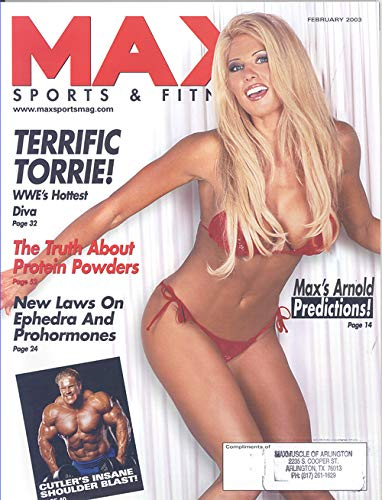 Max Sports and Fitness Magazine February 2003 (Torrie Wilson on Cover)