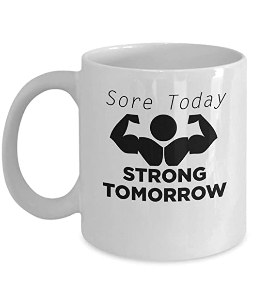 Sore Today Strong Tommorow (White) - By: Trinkets & Novelty ...