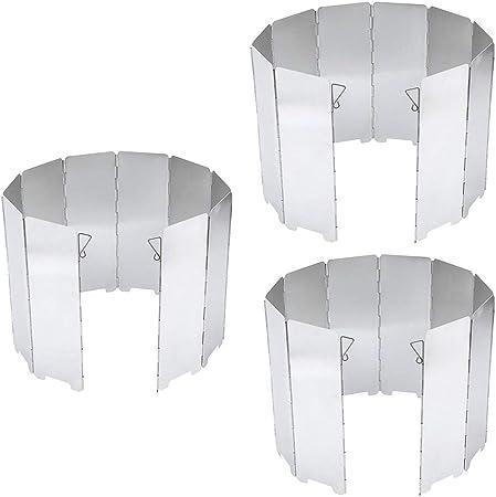 perfeclan 30x Placas Plegables Estufa Al Aire Libre Escudo de ...