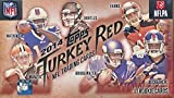 football cards hobby box - 2014 Topps Turkey Red NFL Football Factory Sealed Hobby Box with 11 ROOKIE Cards including HAND SIGNED ROOKIE AUTOGRAPH & MINI PARALLEL Card! Look for Autographs of Odell Beckham Jr, Derek Carr & More