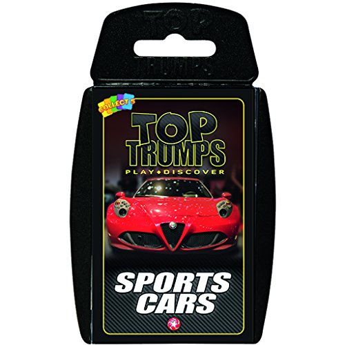 Sports Cars Top Trumps