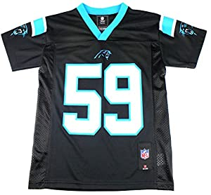 Luke Kuechly #59 Carolina Panthers NFL Youth Mid-tier Jersey Black