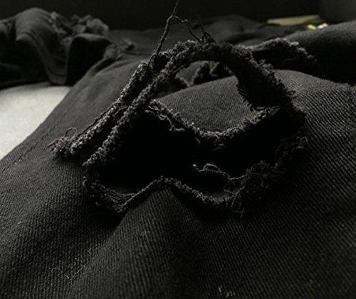 mujer Vaqueros Vaqueros Icegrey negro negro Icegrey para mujer para U0UXwgqR