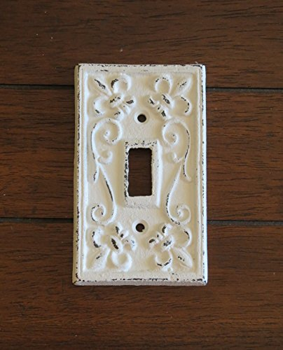 Single Light Switch Cover/ Light Plate Cover / Cast Iron Pla