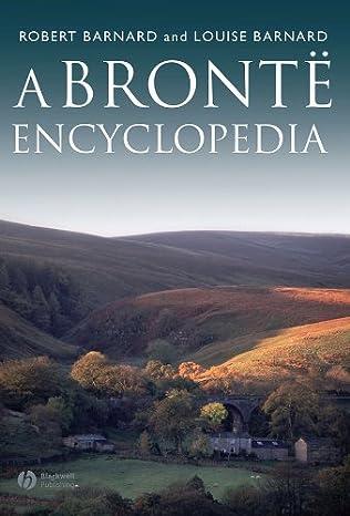 book cover of A Bronte Encyclopedia