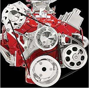 Billet Pulley - Billet Specialties FM2111PC Serpentine Pulley Kit