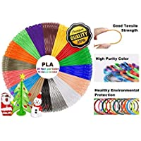 URANUS™ 16 Colors x 5.1 mts 3D Pen Filament Refills 1.75 mm PLA Pack (16)