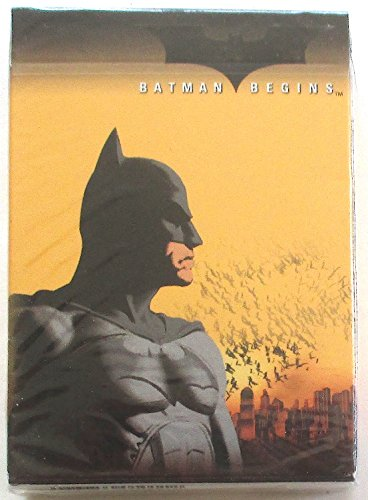 NEW SEALED DECK BATMAN BEGINS PLAYING CARDS LICENSED PRODUCT by Playing Cards ()
