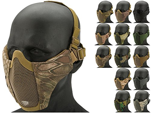 low profile airsoft mask - 3