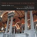 The Coolidge Concerts - Volume I