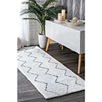 nuLOOM 200HJAL02A-2608 Hand Tufted Sheilah Area Rug, 2 6 x 8