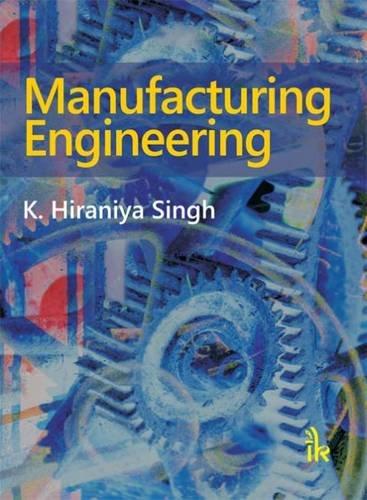 Read Online Manufacturing Engineering PDF