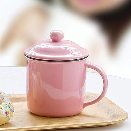 Tazas mugs Original retro vintage ceramica rosa Tazas de ...