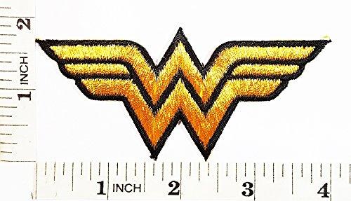 Wonder Women Superhero Comics Cartoon Logo Kid patch Symbol Jacket T-shirt Patch Sew Iron on Embroidered Sign Badge Costume