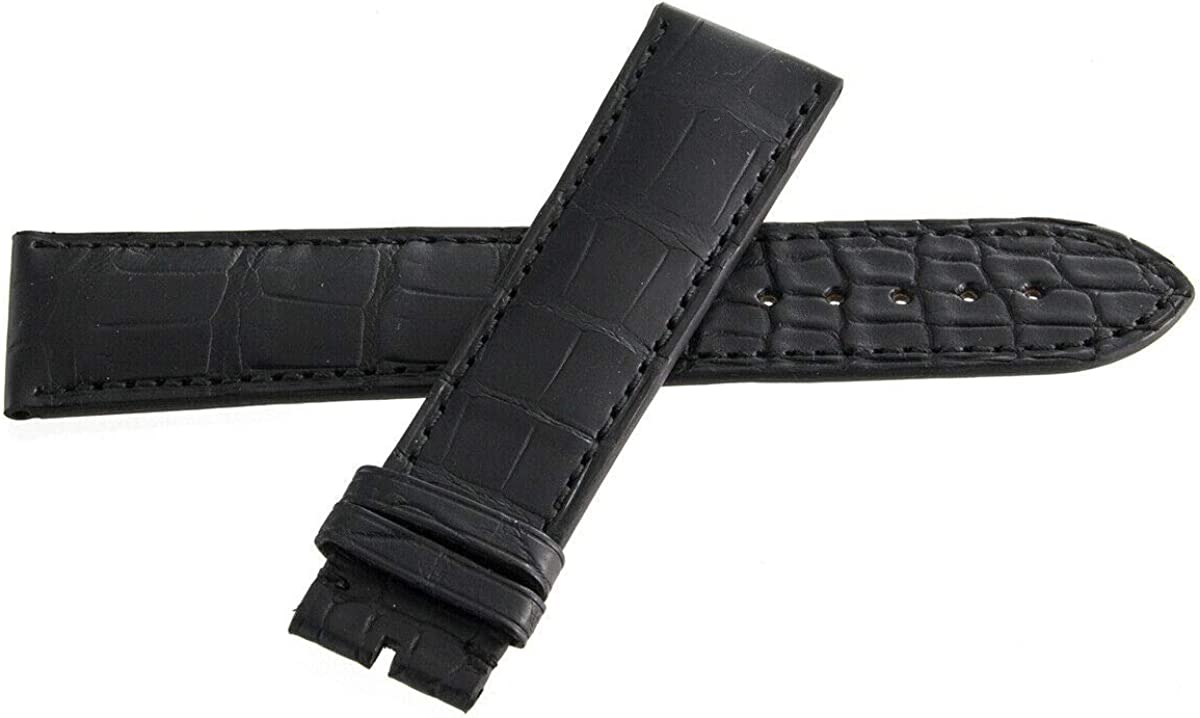 Genuine Arnold & Son Black Leather Watch Strap Band 22mm x 20mm