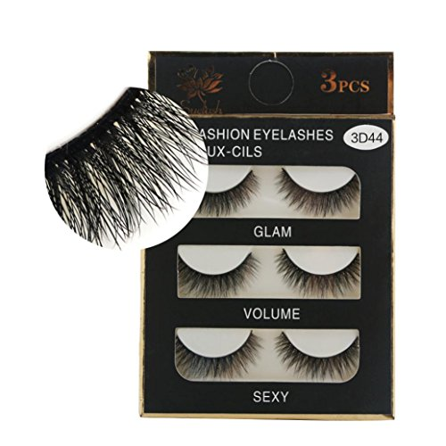 1 Box Luxury 3D False Lashes Fluffy Strip Eyelashes Long Natural Party