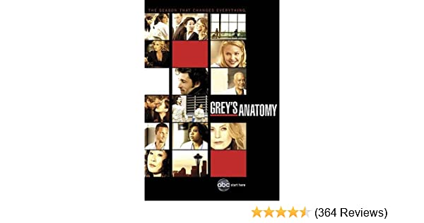 Amazon.com: Grey\'s Anatomy: Season 6: Ellen Pompeo, Patrick Dempsey ...