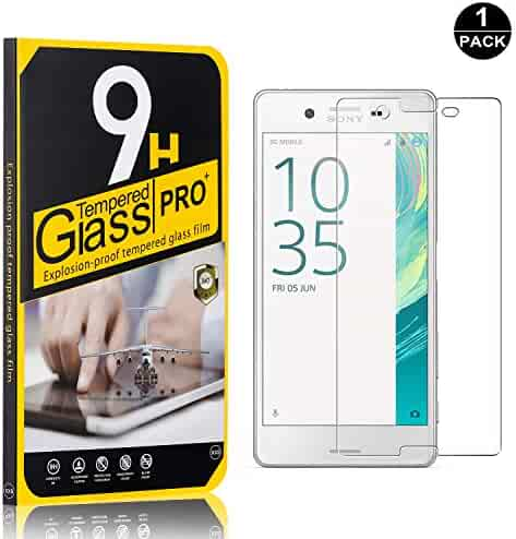 Sony Xperia X Screen Protector, Bear Village Tempered Glass Screen Protector, HD Screen Protector Film for Sony Xperia X - 1 Pack