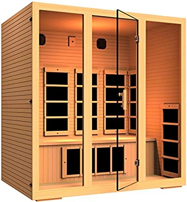 JNH Lifestyles MG401HB Joyous 4 Person Far Infrared Sauna