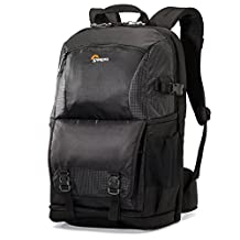 """Lowepro Fastpack BP 150 AW II - A Travel-Ready Backpack for a DSLR, 11"""" Laptop and Tablet"""