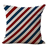 SportHome Fashion National Flag Print Throw Pillow Case Cafe Sofa Cushion Cover(F)
