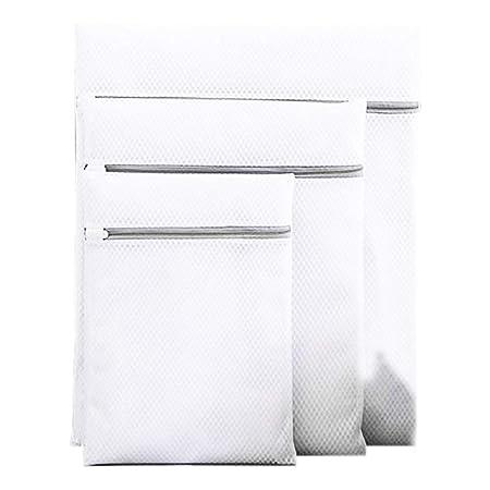 NOVAGO ® 3 Bolsas de red con cremallera para lavadora, diseñado ...