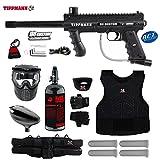 full auto paintball - Tippmann 98 Custom ACT Starter Protective HPA Paintball Gun Package - Black