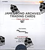 2017 Rittenhouse 'James Bond Archives' Final Edition Trading Card box