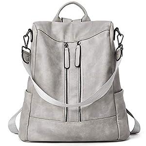 BROMEN Femmes sac à dos sac à main en cuir anti-vol voyage sac à dos mode épaule sac à main