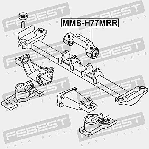 Febest SILENTBLOC SOPORTE DE MOTOR TRASERO MMB-H77MRR
