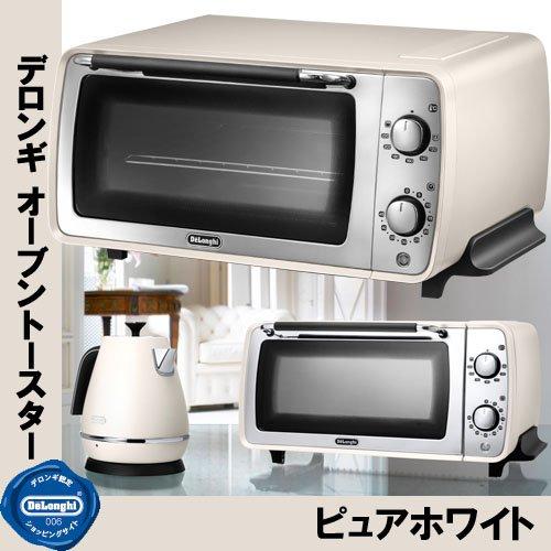 DeLonghi Distinta collection Oven and toaster EOI406J-W (Pure White) (Delonghi White Toaster Oven compare prices)