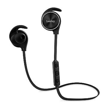 Auriculares Bluetooth auriculares inalámbricos E12, Leadtry, Slim ligero Bluetooth RSE 4.1, CVC6.