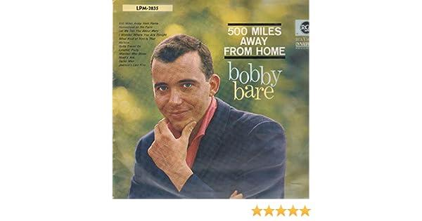 Bobby bare 500 miles away from home [lp vinyl] amazon. Com music.