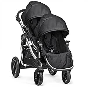 Baby Jogger 2015 City Select with 2nd Seat, Black/Silver