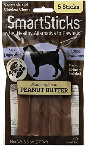 Dog Treats: SmartSticks Peanut Butter