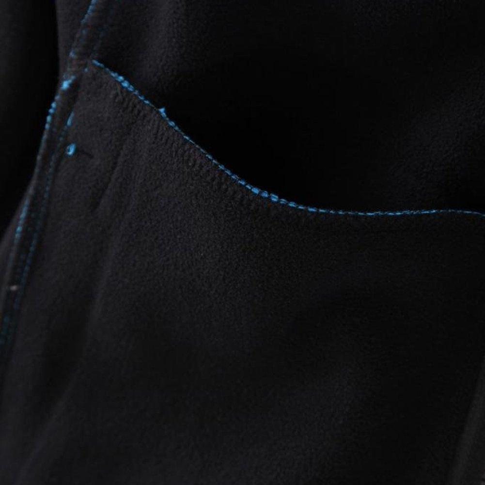 Somewhere Men's Full-Zip Fleece Composite Colors Autumn/Winter Essential Slim-Fitting Jacket(XXL) by Somewhere (Image #9)