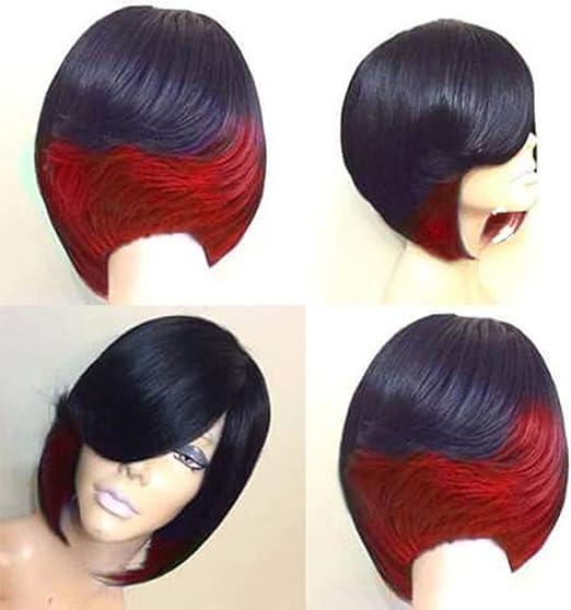 DER Wig European Lady Moda Realista Natural Corto Cabello ...